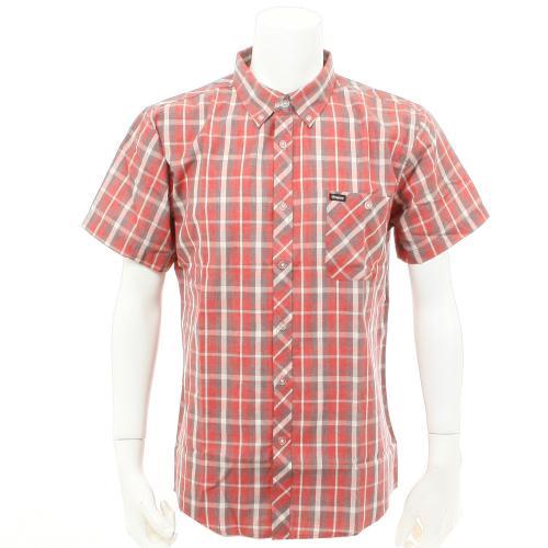 BRIXTON HOWL WOVEN メンズ ウェア チェックシャツ 半袖 404063000100(Men's)