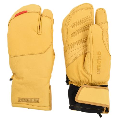ゴールドウィン(GOLDWIN) Leather Mountain Glove G81600P C ウインター ミトングローブ スノボグローブ(Men's)