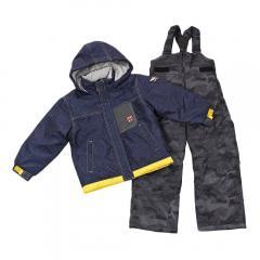 CCL TEAM 男児スーツ C3657700 NVY キッズ スキーウエア(Jr)