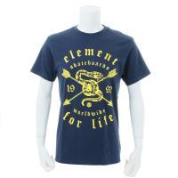 エレメント AG021251 WHT Tシャツ 半袖(Men's)