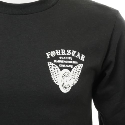 フォースター WINGED WHEEL L/S メンズ ウェア Tシャツ 長袖(Men's)