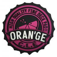ORANGE Big bottle cap Gm mat ビッグボトルキャップGMマット 110665/4025 スノーボード デッキパット ピンク スノボ 滑り止め(Men's、Lady's、Jr)