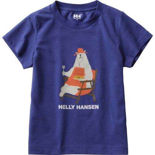 ヘリーハンセン(HELLY HANSEN) K S/S Bear Tee キッズ Tシャツ HJ61704 BB(Jr)