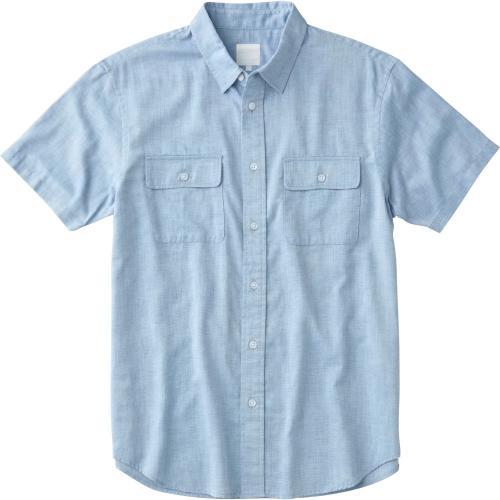 ノースフェイス(THE NORTH FACE) ショートスリーブ ファーンウッドシャツ S/S FERNWOOD SHIRT NR21714 SX メンズ 半袖シャツ(Men's)