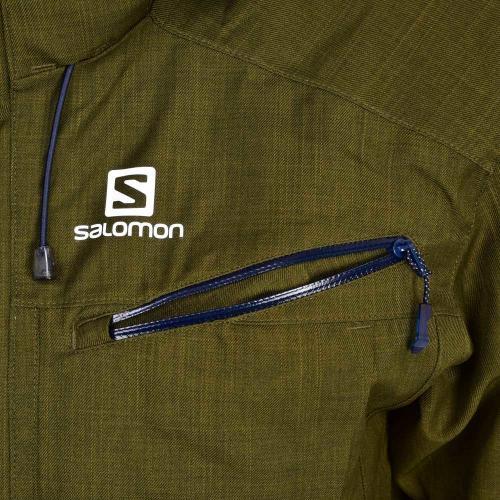 サロモン(SALOMON) 2016-2017 FANTASY JACKET メンズ スキーウエア ジャケット 17 382686 M Green ダークグリーン(Men's、Lady's)