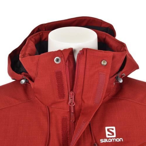 サロモン(SALOMON) 2016-2017 FANTASY JACKET メンズ スキーウエア ジャケット 17 382690 M BRIQU エンジ(Men's、Lady's)