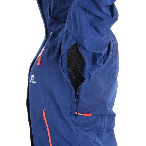 サロモン(SALOMON) 2016-2017 FANTASY JACKET レディース スキーウエア ジャケット 17 382491 W WNavy ネイビー(Lady's)