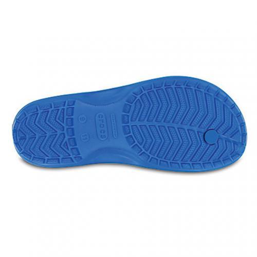 クロックス(crocs) クロックバンド フリップ crocband flip 11033-49Z Ocean/Electric Blue メンズ サンダル(Men's)