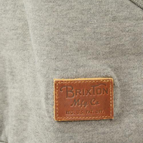 BRIXTON GRADE HENLEY HOOD FLEECE メンズ トップス パーカー 316-02200-0363 CEMENT(Men's)