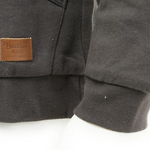 BRIXTON BILLINGS ZIP HOOD メンズ トップス パーカー 316-02204-0141 WASHED BLACK(Men's)