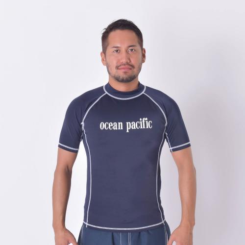オーシャンパシフィック(Ocean Pacific) M ハンソテ゛ラッシュカ゛ート゛ 516670NVY マリンウエア メンズラッシュガード(Men's)