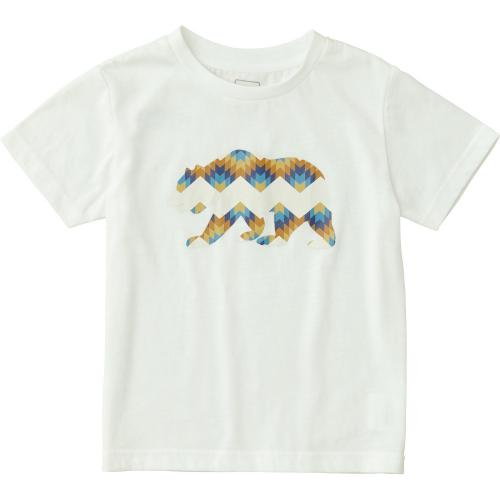 ノースフェイス(THE NORTH FACE) ショートスリーブグラフィックティー キッズ S/S Graphic Tee NTJ31712 W 半袖Tシャツ(Jr)
