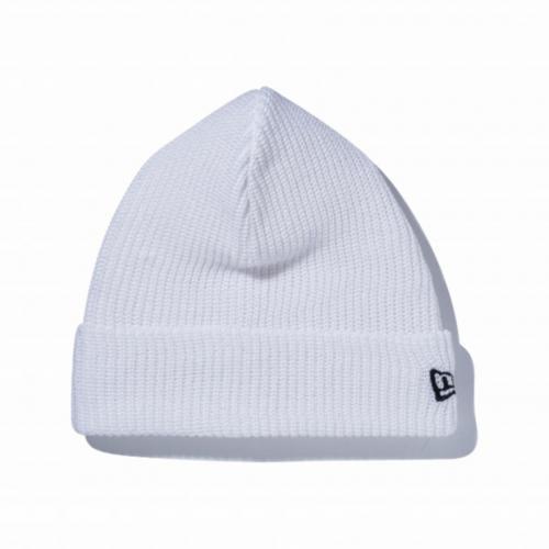 ニューエラ(NEW ERA) SOFT CUFF KNIT COTTON  ホワイト 11404135 帽子 ビーニー(Men's、Lady's)