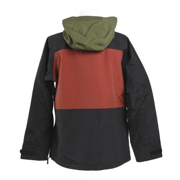 メーカーブランド(BRAND) AAUF SMOKEANORAK ジャケット 72116363 BLK/RED(Men's)