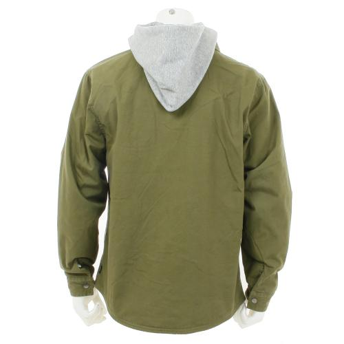 BRIXTON CANTON JACKET メンズ シャツジャケット OLV(Men's)