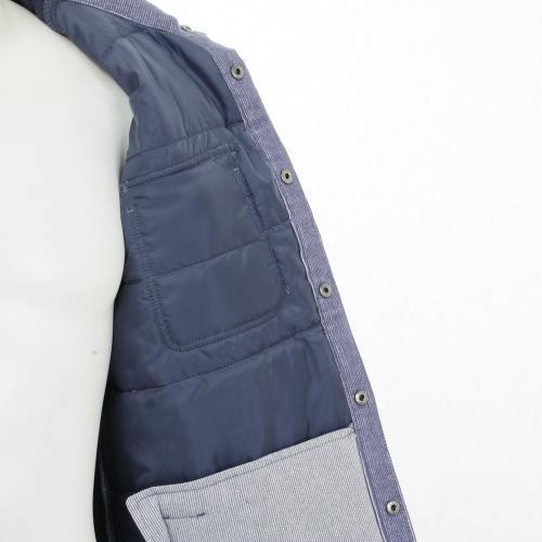BRIXTON CASS JACKET メンズ キルティングジャケット LBLU(Men's)