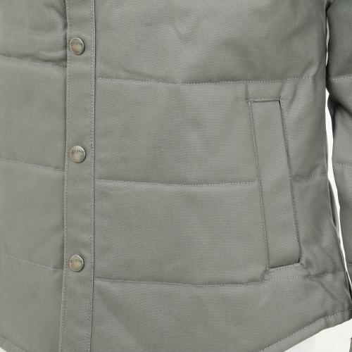 BRIXTON CASS JACKET メンズ キルティングジャケット WGRY(Men's)