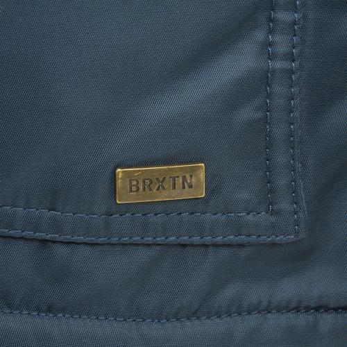 BRIXTON COLSTRIP JACKET メンズ フライトジャケット CBLU(Men's)