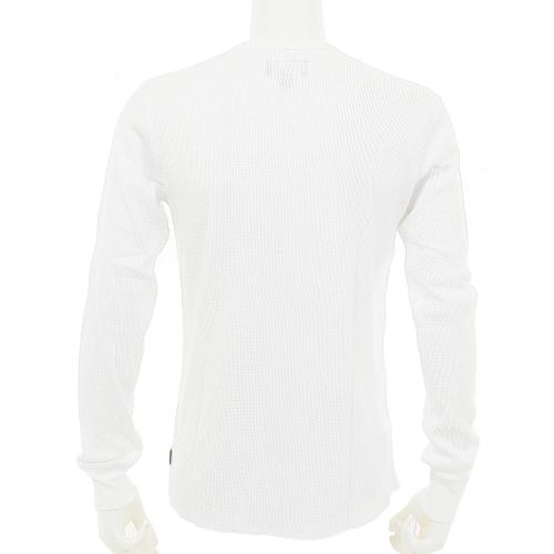 BRIXTON MACH L/S KNIT メンズ トップス 長袖Tシャツ WHT(Men's)