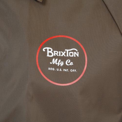 BRIXTON WHEELER JACKET メンズ コーチジャケット BRN(Men's)