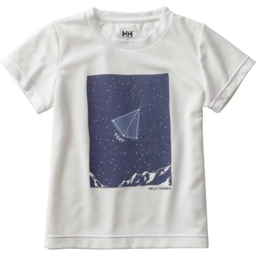 ヘリーハンセン(HELLY HANSEN) K S/S Star Sign Tee キッズ Tシャツ HJ61703 W(Jr)