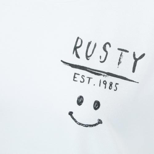 ラスティ UV Tシャツ 水陸両用 レディース 半袖 ラッシュガード 937430WHT(Lady's)