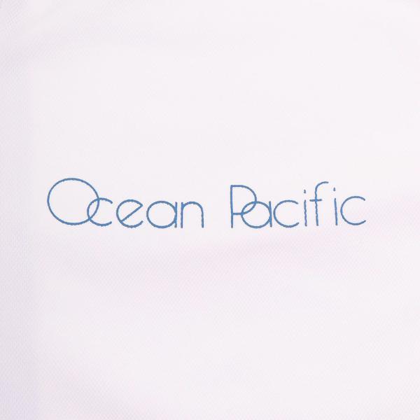 オーシャンパシフィック(Ocean Pacific) ロングスリーブ ZIPラッシュガード レディース 長袖 ジップ ラッシュガード 527461WHT(Lady's)