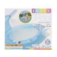 インテックス(INTEX) 【オンラインストア期間限定SALE価格】ホエール スプレープール 17 57435(Jr)