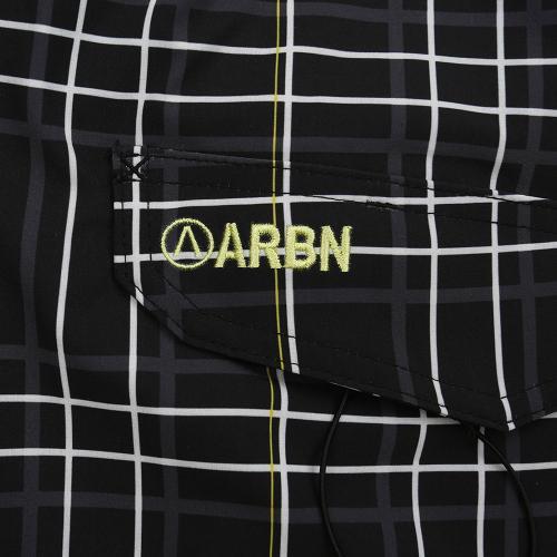 エアボーン(ARBN) チェックトランクス ABS7164BLK(Men's)
