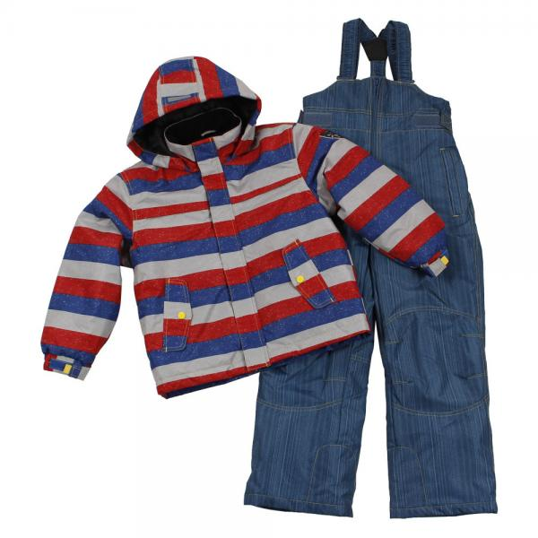 CCL TEAM 男児スーツ 3662040 RED キッズ ジュニア 上下セット スキーウエア(Jr)