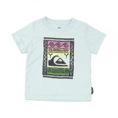 クイックシルバー(Quiksilver) WALL STREET SURF KID Tシャツ KLY161154SAX(Jr)
