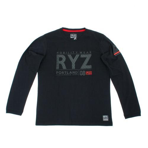 ライズ(RYZ) SLASHED RYZ L/S 869R7CD2403 BLK(Men's)