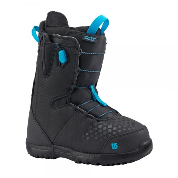バートン(BURTON) 2017-2018 CONCORD SMALLS BLACK/BLUE 18 11672104011 キッズ ジュニア スノーボード ブーツ(Jr)