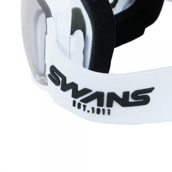 スワンズ(SWANS) ROVO-U/MDH-SC-PAF MAW メンズ スノーゴーグル(Men's)