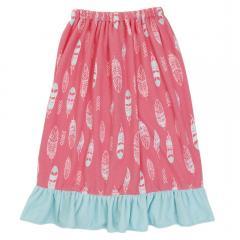 NIKKI KIDS 裾フリル 巻きタオル 128418PK(Lady's)