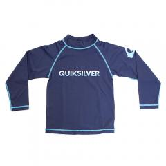 クイックシルバー(Quiksilver) ジュニア 長袖ラッシュガード XEBIO RASH KIDS 18SU KLY182601 XNVY(Jr)