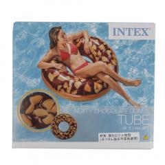 インテックス(INTEX) ウキワ114cm ブラウンドーナッツ 18 56262 ウキワ114cm ブラウンドーナッツ(Men's、Lady's、Jr)