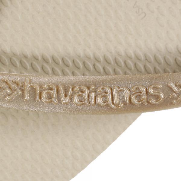 ハワイアナス(HAVAIANAS) ビーチサンダル スリムサンドグレー ライトゴールデン(Lady's)