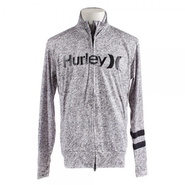 ハーレー(HURLEY) ラッシュガード ジップハイネック O&O MKNZLY86-HTG(Men's)
