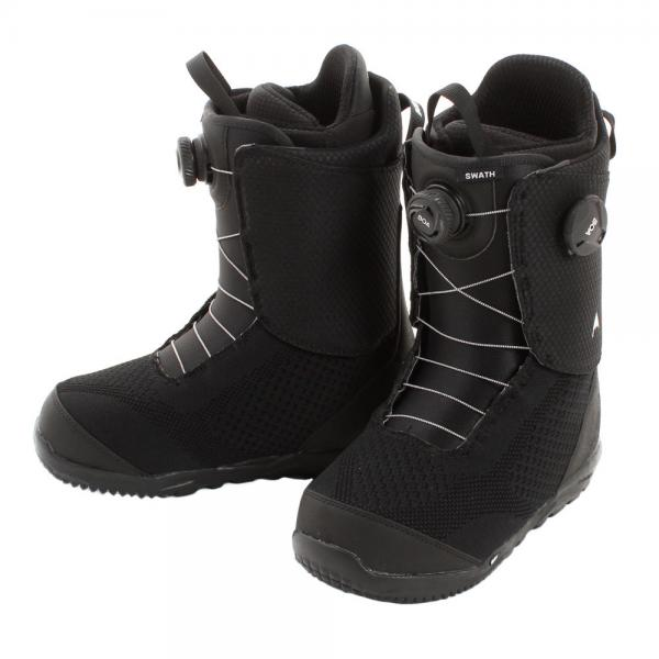バートン(BURTON) SWATH BOA スノーボードブーツ BLACK 20318100001(Men's)