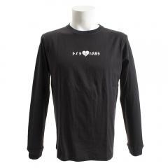 SESSIONS ハートブレイカー 長袖Tシャツ 187035 BLK(Men's)