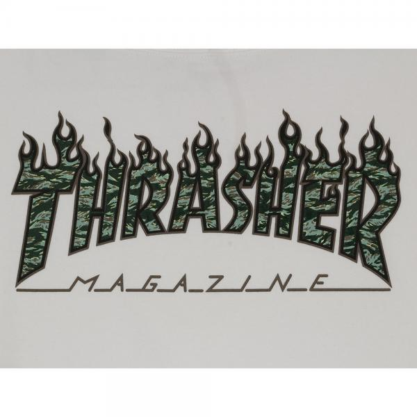 THRASHER Tiger Flame スウェットパーカー TH95225WH(Men's)