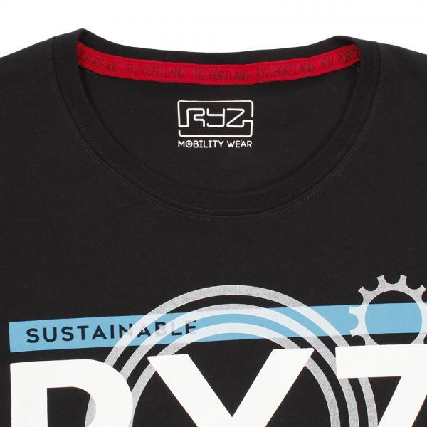 ライズ(RYZ) 半袖 Tシャツ 869R9CD6319 BLK(Men's)