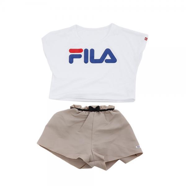 フィラ(FILA) ジュニア キュロパン 3点セット 129-661 BE(Jr)