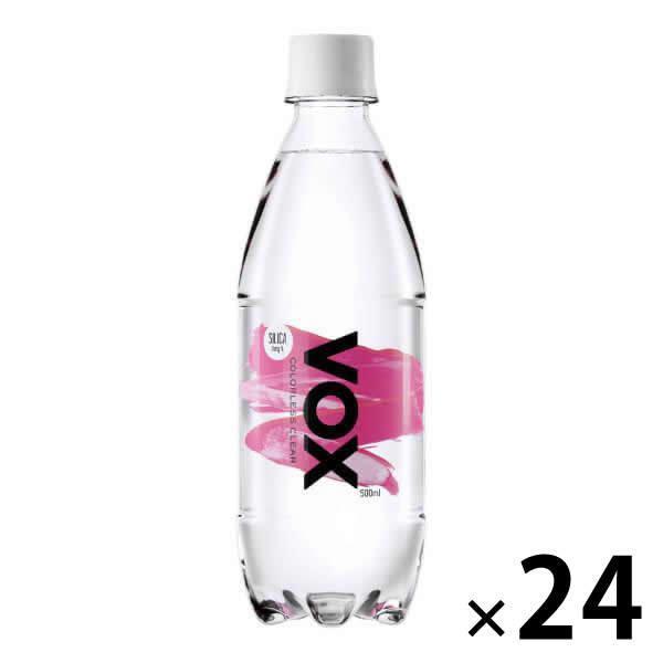 VOX 強炭酸水 500ml×24本 送料無料 シリカ