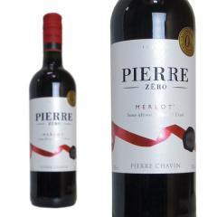 ピエール・ゼロ メルロー NV ピエール・シャヴァン 750ml (ノンアルコール赤ワイン フランス)