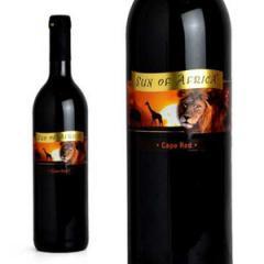 赤ワイン サン・オブ・アフリカ ケープ・レッド 750ml (南アフリカ)|555円均一ワインの画像