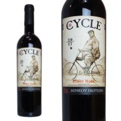 サイクル ピノ・ノワール 2017年 ミンコフ・ブラザーズ 750ml (ブルガリア 赤ワイン)の画像