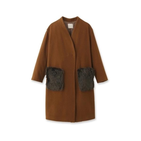 【WEB限定】エコファーポケットコート