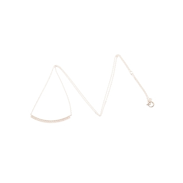 ダイヤモンドミル アーチネックレス(大)